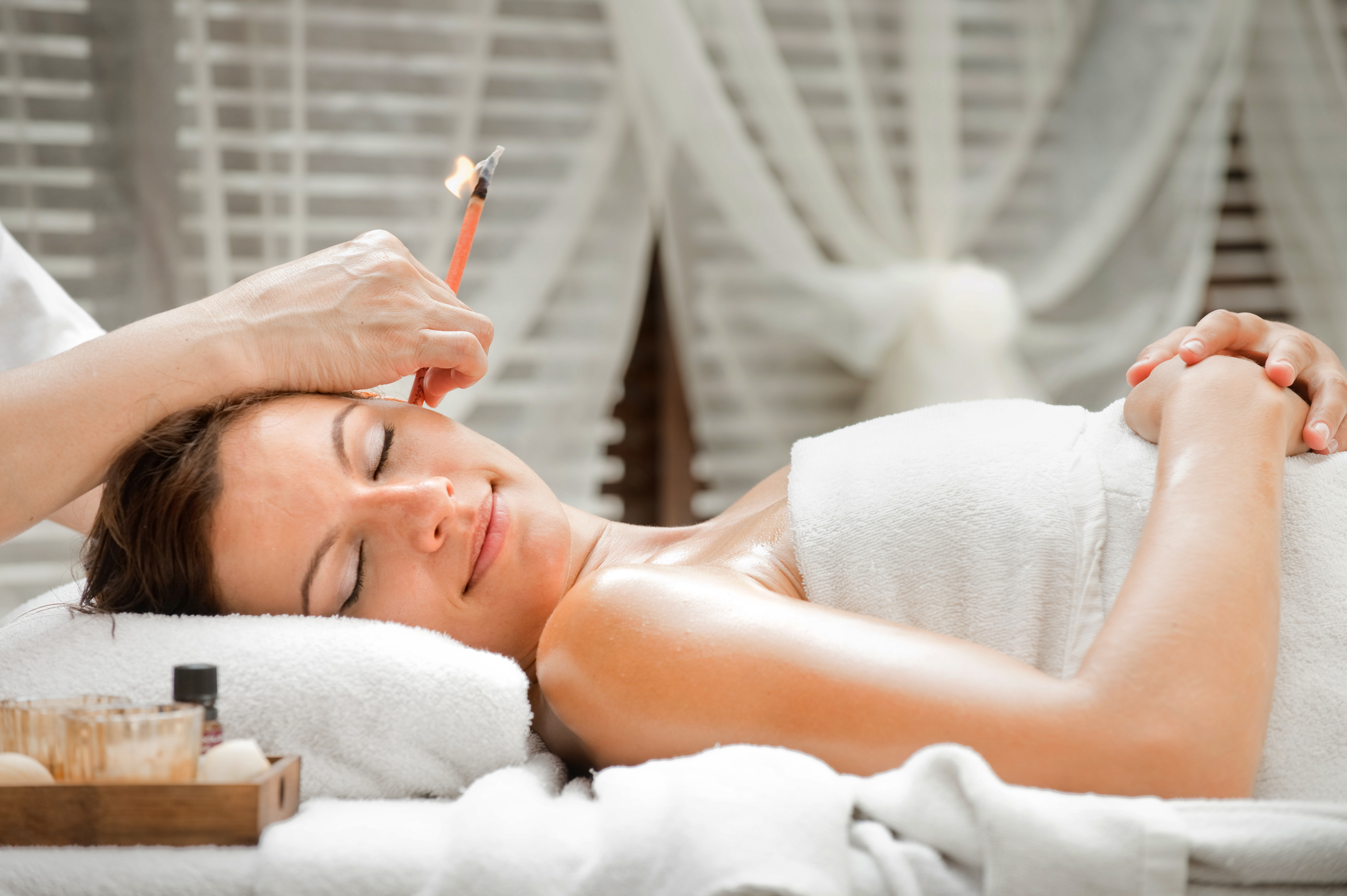 Asian Ear Candling